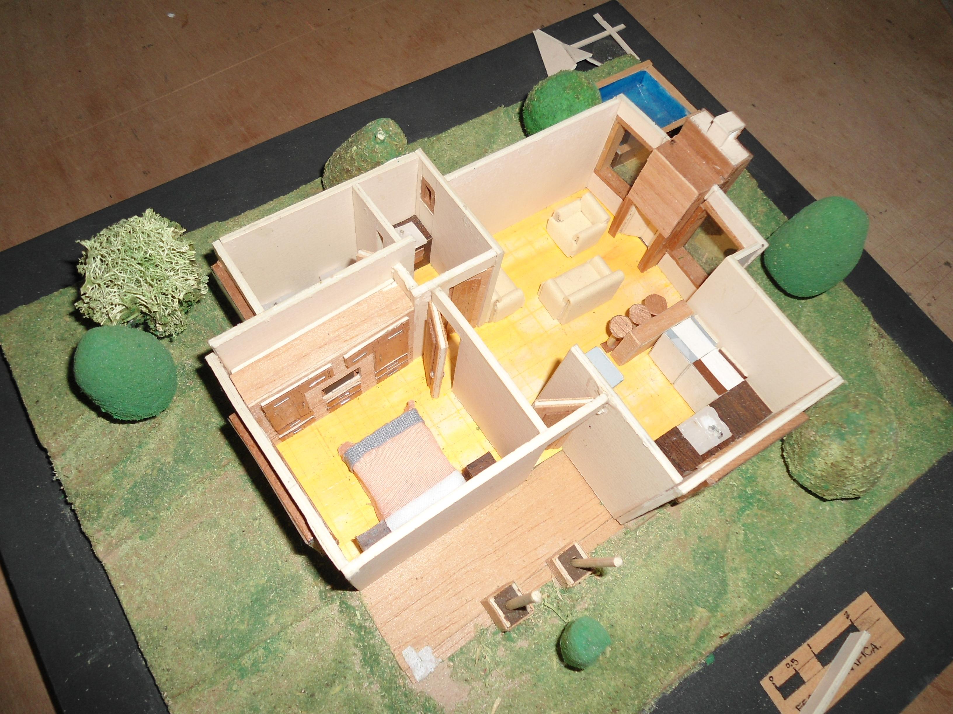 Maqueta Final de Modelos Arquitectònicos 1 | Arq. Talento